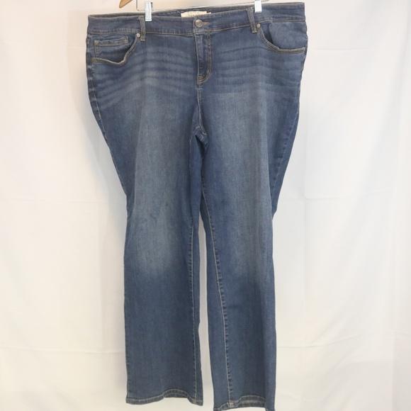 torrid Denim - Torrid 24R Women's Jeans Relaxed Boot Blue